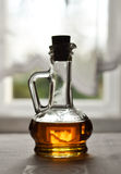 Plugged ottle with maple sirop Royalty Free Stock Photo