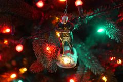 Clark W. Griswold Christmas Tree Ornament royalty free stock image