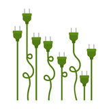 plugs design Royalty Free Stock Image