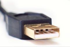 Plugue do USB Imagem de Stock Royalty Free