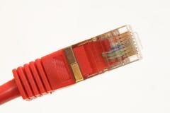 Plugue vermelho Imagens de Stock