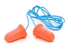 Plugues de orelha Fotografia de Stock