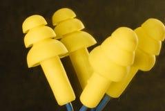 Plugues de orelha Imagem de Stock