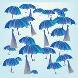 Pluie Photos libres de droits