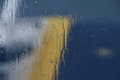 Pluie Photographie stock libre de droits