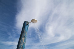 Pluie artificielle Photos libres de droits