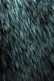 Pluie bleue sur un fond noir illustration stock