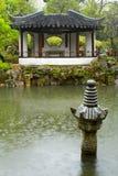 pluie chinoise de jardin Images stock