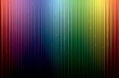 Pluie colorée illustration de vecteur