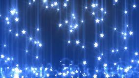 Pluie d'étoile illustration de vecteur