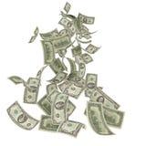 Pluie d'argent illustration de vecteur