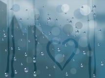 Pluie d'automne Photo stock