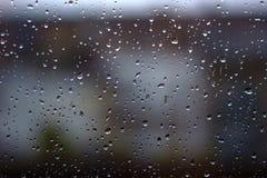 Pluie dans la ville photo libre de droits