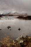 Pluie de Rannoch Photo libre de droits