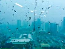 Pluie sur la glace Images stock
