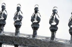 pluie verglaçante Image stock