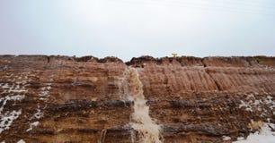 Pluies de montagnes Images libres de droits