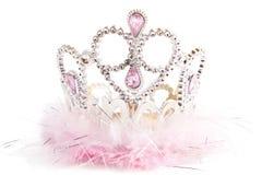 Pluizige buitensporige kroon Royalty-vrije Stock Afbeeldingen