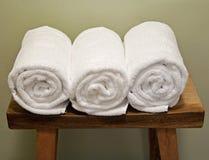 Pluizige handdoeken Stock Afbeelding