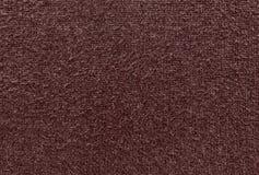 Pluizige textuur van gebreide stof Stock Fotografie