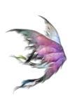 Pluizige vleugels Stock Afbeeldingen