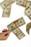 Plukkend contant geld Royalty-vrije Stock Foto's
