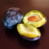 Plum.  stock photo