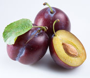 Plum Royalty Free Stock Photo