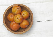 Plum from above Stock Photography