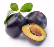 Free Plum And A Half Stock Photo - 12831540