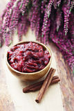 Plum and apple chutney Royalty Free Stock Photo