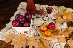 Plum brandy Royalty Free Stock Photography