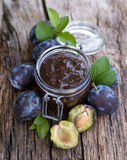 Plum butter Royalty Free Stock Image