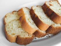 Plum cake. Royalty Free Stock Images