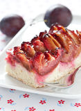 Plum cake Stock Images