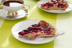 Plum cake Royalty Free Stock Photography