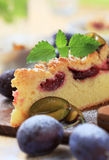 Plum cake Royalty Free Stock Photo