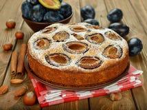 Plum cake Stock Photography