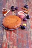 Plum cake Stock Photos