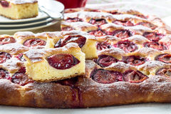 Plum cake Stock Photos