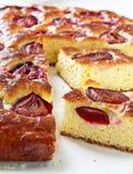Plum cake and slices of plum cake on Stock Photos