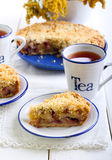 Plum cake Royalty Free Stock Images