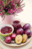Plum chutney Royalty Free Stock Photography
