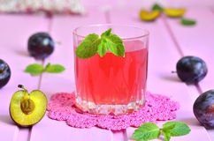 Plum compote. Stock Photography