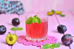 Plum compote. Stock Image