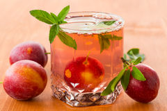 Plum compote Royalty Free Stock Photos