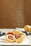Plum dumplings Royalty Free Stock Images