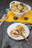 Plum Dumplings Royalty Free Stock Photos