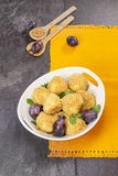 Plum Dumplings Stock Photography