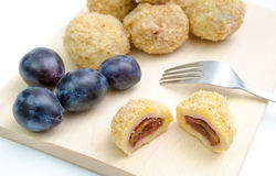 Plum dumplings Royalty Free Stock Photo